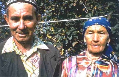 My grandfather Auhat and my grandmother Salima.